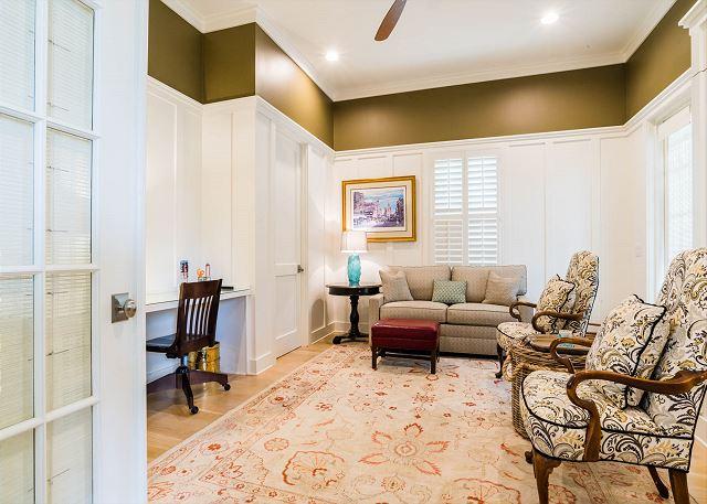 First Floor: Office/Guest Bedroom