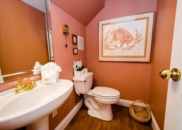 Half Bathroom, First Floor