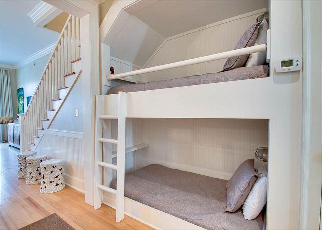 Second Floor: Twin over Twin Bunk Bed
