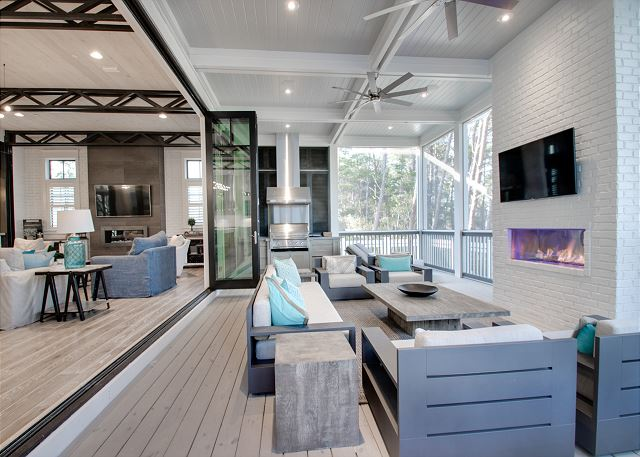 First Floor: Outdoor Living Space