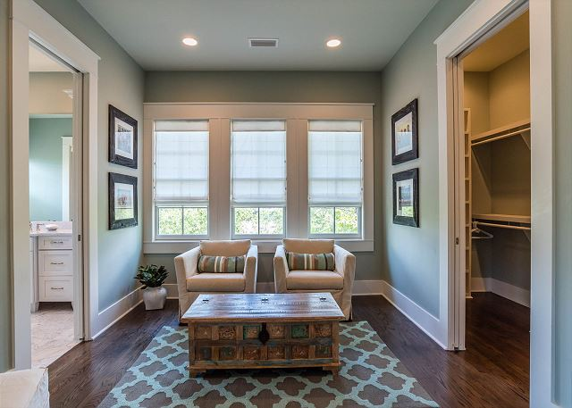 Second Floor: Master Sitting Area