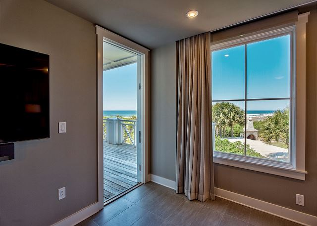 Master Bedroom with Gulf Views