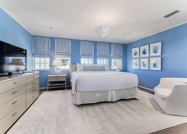 Third Floor: Master Bedroom