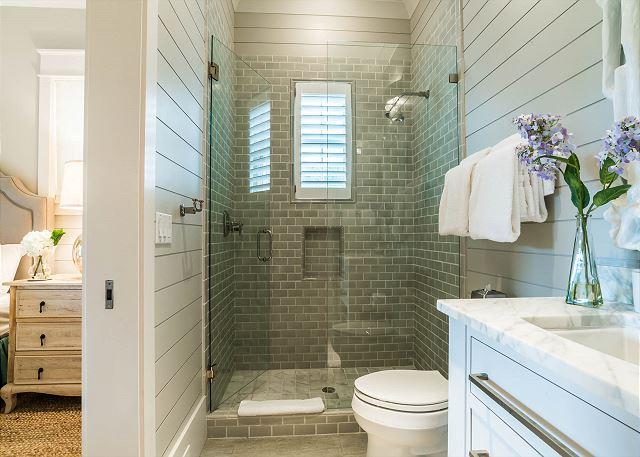 First Floor: Queen Bedroom Private Bathroom