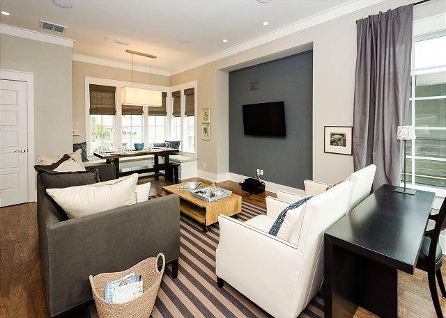 Third Floor: Living Room