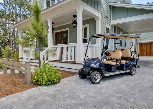WaterColor 650 East Royal Fern - Golf Cart