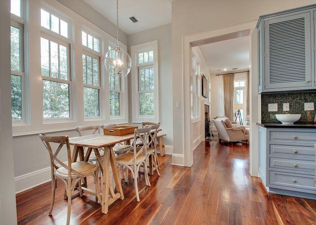 First Floor: Kitchen Dining