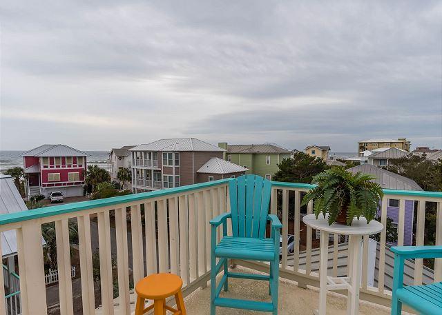 Third Floor: Balcony/lookout tower