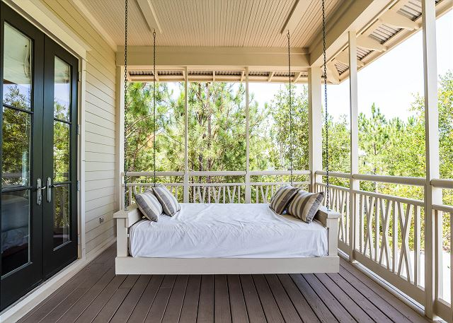 Second Floor: Bed Swing