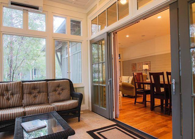 First Floor: Sunroom