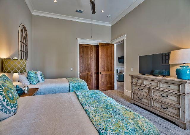 First Floor: Two Queen Beds