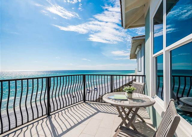 Master Porch with Gulf Views