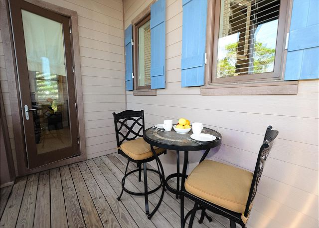 Second Floor Porch Seating