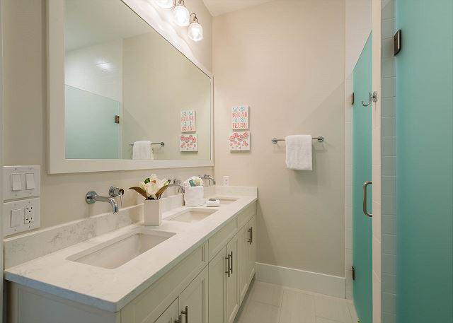 First Floor: Bunk Room One Bathroom