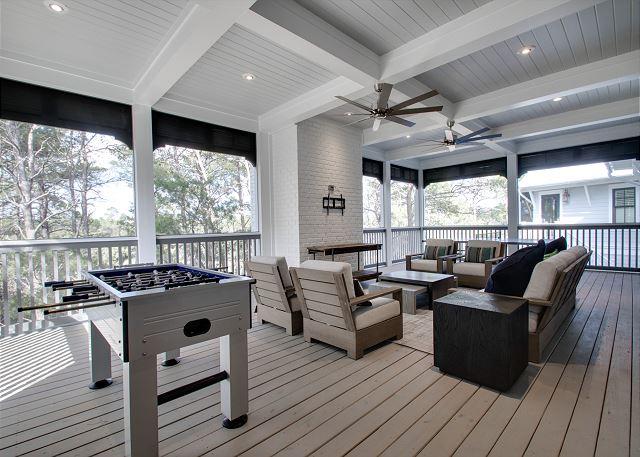 Second Floor: Outdoor Living Space