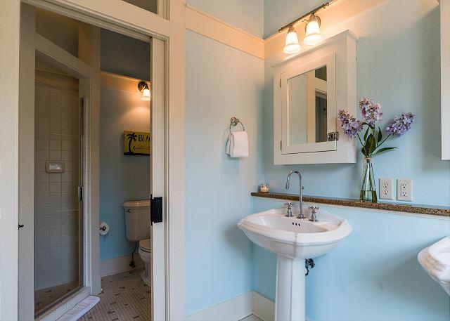 Second Floor: Queen Bedroom Private Bathroom