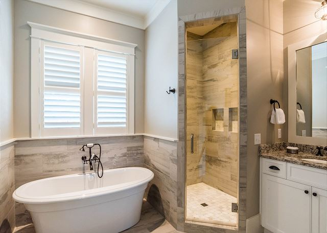 Second Floor: Private Master Bathroom
