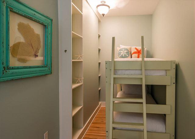Second Floor: Twin Over Twin Bunk Beds