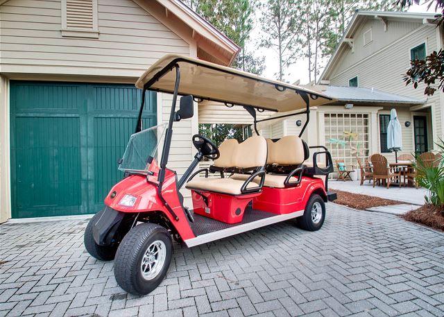 Six Seater Golf Cart!