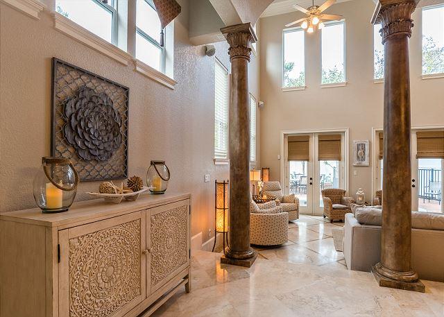 First Floor: Open Living Area