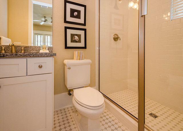 First Floor: King Bathroom