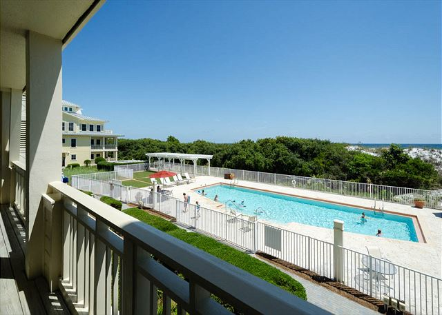 View of Complex Pool and Gulf