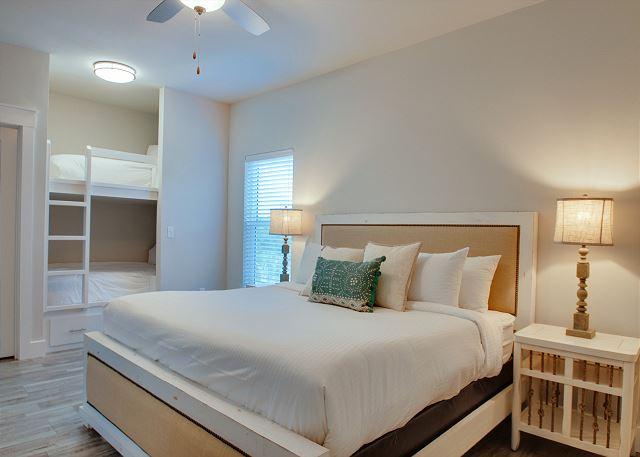 Third Floor: Guest Bedroom with Twin Bunks
