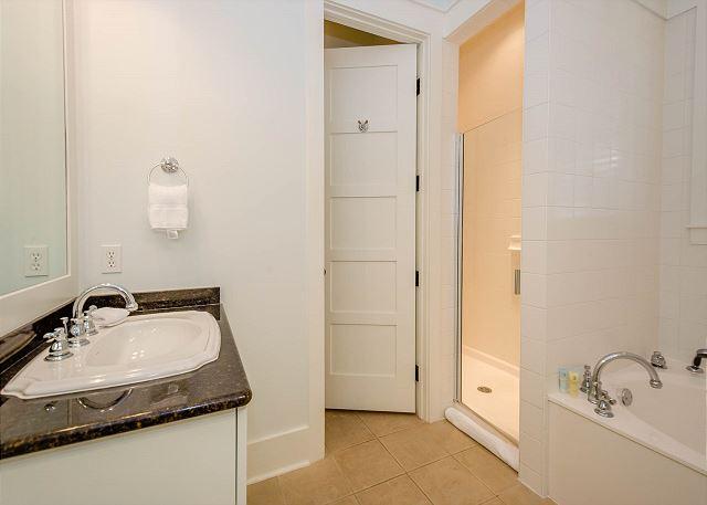 First Floor: Master Bathroom