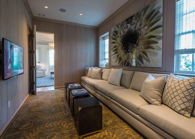 Second Floor: Master Bedroom Sitting Area