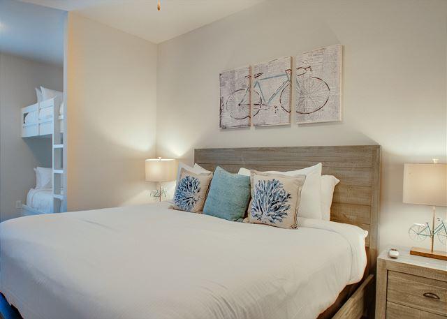 Second Floor: Guest Bedroom with Twin Bunks