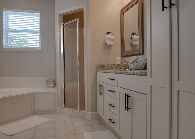 Second Floor: Master Bathroom