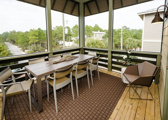 Third Floor: Porch Dining Area