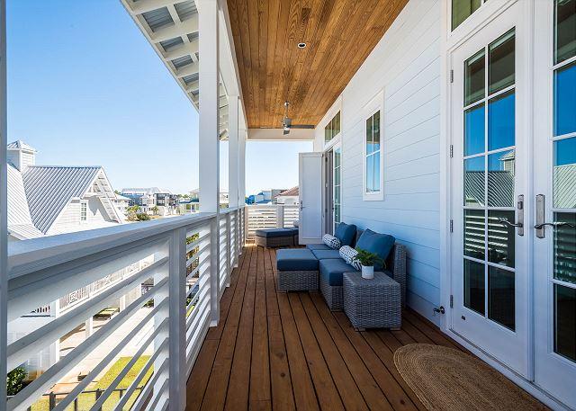 Third Floor: Back Porch