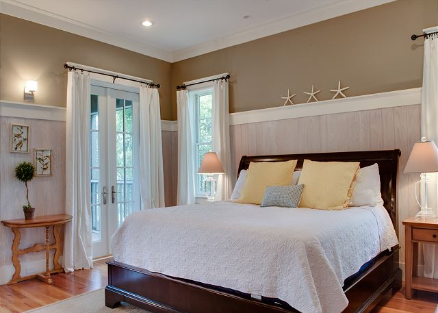 Second Floor: Master Bedroom