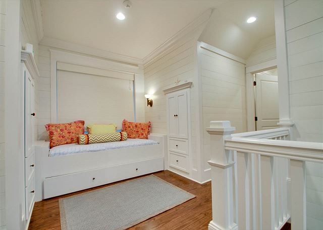 Second Floor: Landing with Twin Bed and Twin Trundle
