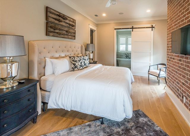 Second Floor: Master King Bedroom with Private Bathroom