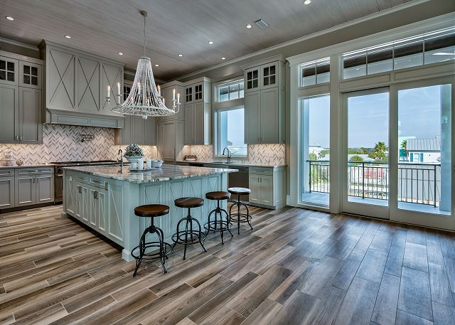 Second Floor: Kitchen Area
