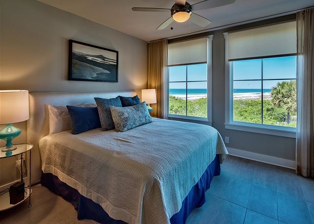 Guest Bedroom with Gulf Views