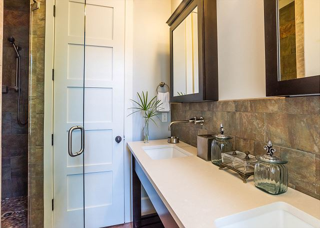 First Floor: Private Master Bathroom