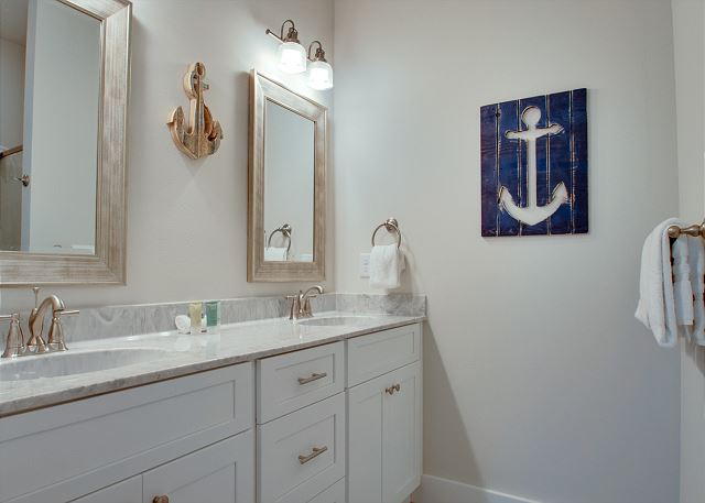 Third Floor: Bunk Game Room Bathroom