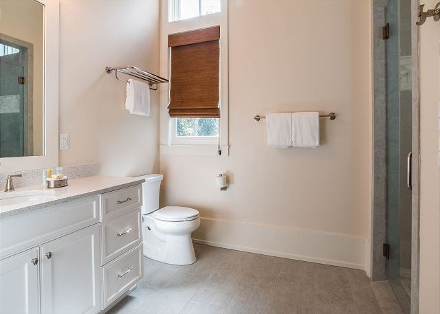 First Floor: Master Bathroom - Handicap Accessible