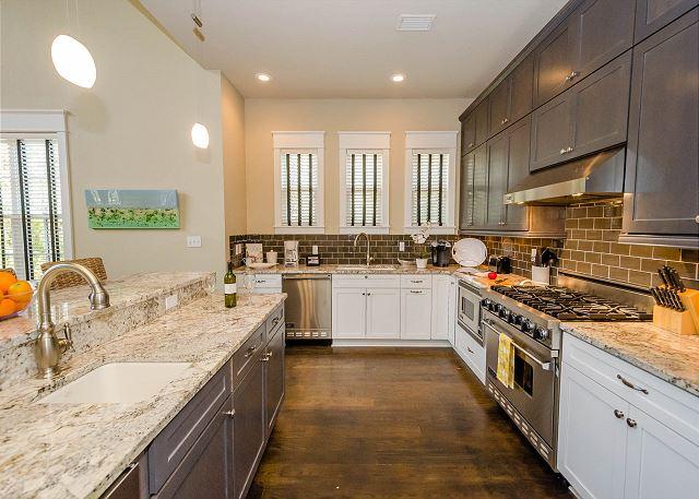First Floor: Kitchen