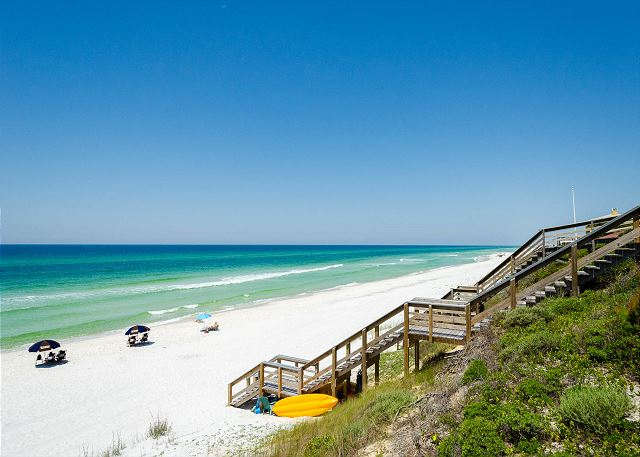 Gulf View From The Beach House