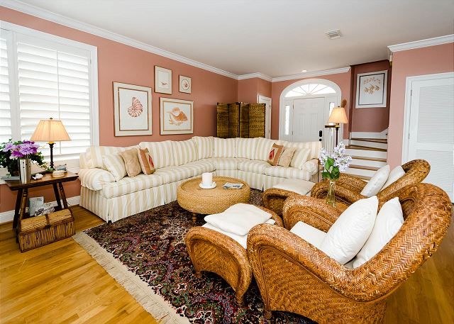 Living Room, First Floor
