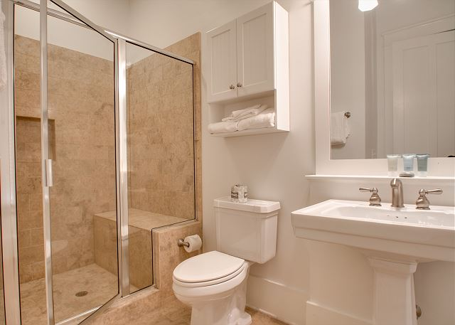 First Floor: Master Private Bathroom
