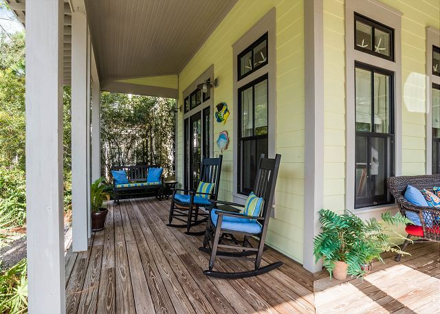 Front Porch with Sitting Area