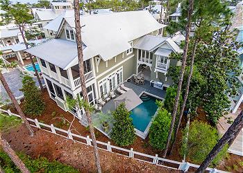 Watercolor 82 vermillion way vacation rentals in santa for Houses for sale watercolor fl