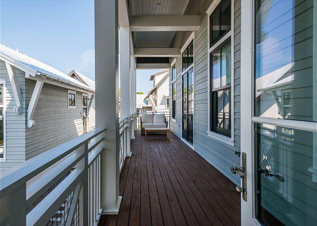 Second Floor: Front Porch