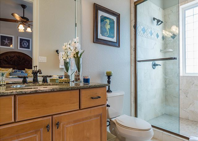 Second Floor: Private Guest Bathroom