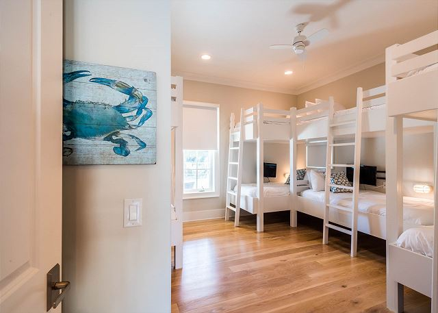First Floor: Bunk Room Two